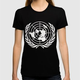 United Nations UN World Peace graphic T-shirt