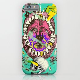 PSYCH MYSTERY iPhone Case