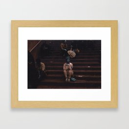 Glimpses of Brooklyn  Framed Art Print