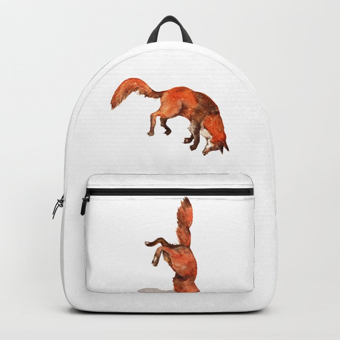 Jumping Red Fox Backpack