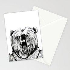He was like a bear! Stationery Cards