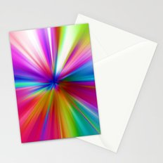 Rainbow Zoom Stationery Cards