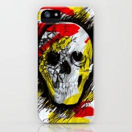 Graff ic Skull iPhone Case