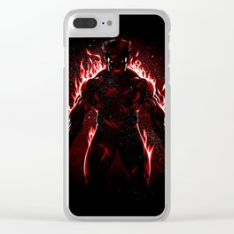 Fire claws Clear iPhone Case