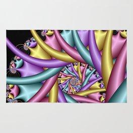 spiral art -d- Rug