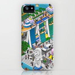Pixels X Singapore iPhone Case