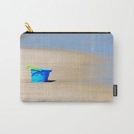 Little Blue Bucket Carry-All Pouch