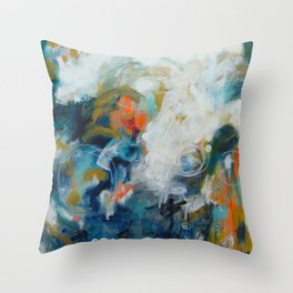 Under the Stars Throw Pillow