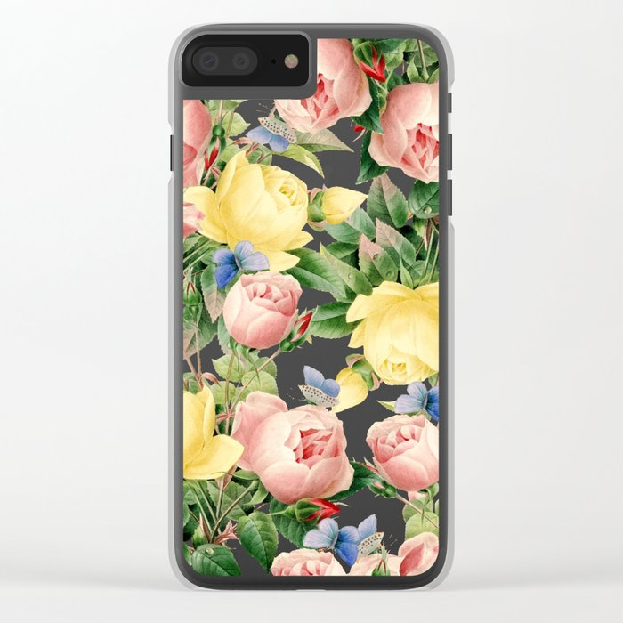 Flora #society6 #decor #buyart Clear iPhone Case
