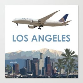 Airliner114 Canvas Print