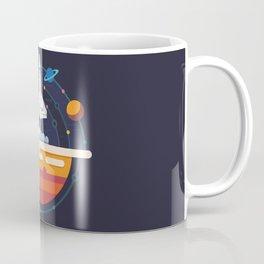 Space Shuttle & Solar System Coffee Mug