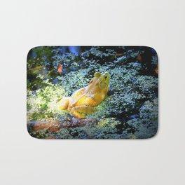 Bullfrog In The Swamp Bath Mat