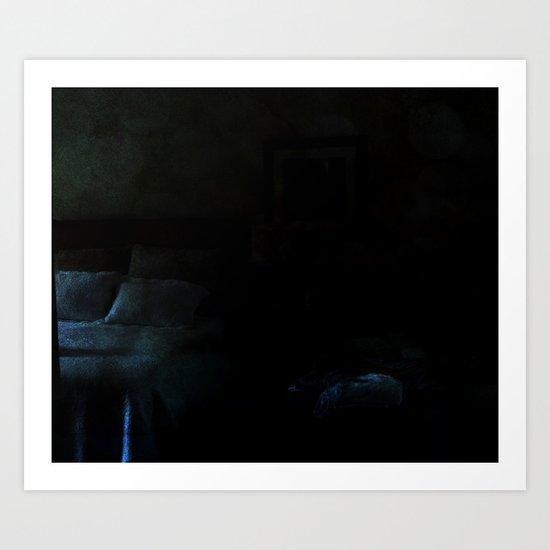 sleepy valley inn  Art Print
