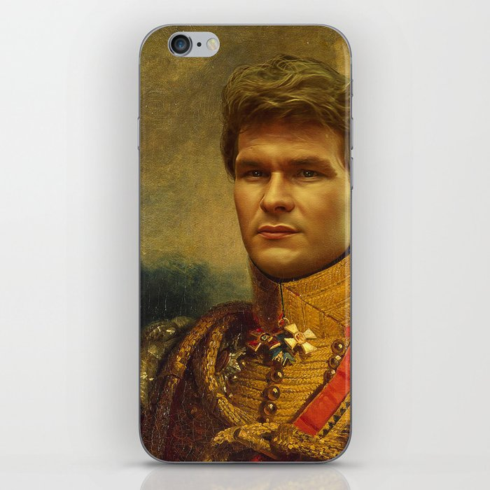 Patrick Swayze - replaceface iPhone Skin