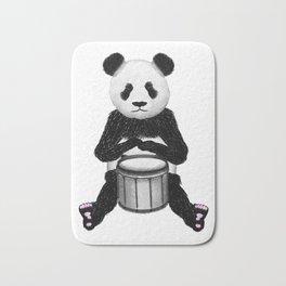 Panda Drummer Bath Mat