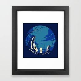 """""""The Jedi and The Child"""" by Matt Kehler Framed Art Print"""