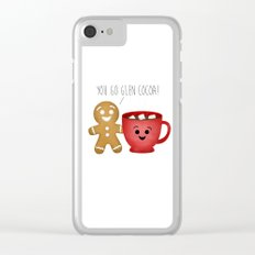 You Go Glen Cocoa! Clear iPhone Case