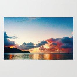 magic sky of kauai Rug