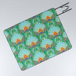 Royal Ornament Pattern Picnic Blanket
