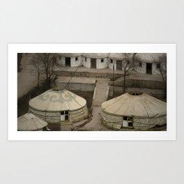Mongolian Get-away Art Print
