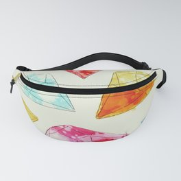 Gems in pastel colours Fanny Pack