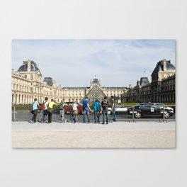 les jeunes de paris Canvas Print