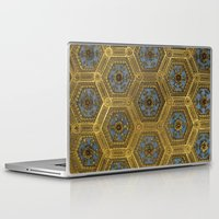 honeycomb Laptop & iPad Skins featuring Honeycomb by Melinda Zoephel