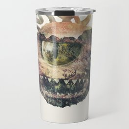 Beholder (Typography) Travel Mug