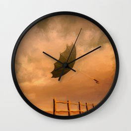 The Great Escape Wall Clock
