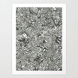 Unknown Origins Art Print