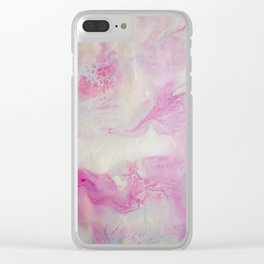 Abstract acrylic painting 30 Clear iPhone Case