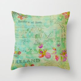 The Lady Jane Collection Throw Pillow