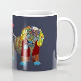 Yellow Mellow Dachshund Coffee Mug