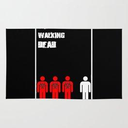 The Walking Dead Minimalist Rug