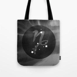 Capricorn Zodiac Watercolor Tote Bag