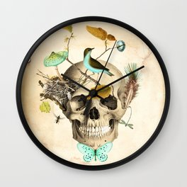 Returned to the earth Wall Clock