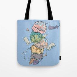 Ice Cream Aquarium Tote Bag