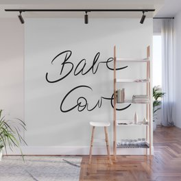 Babe Cave Wall Mural