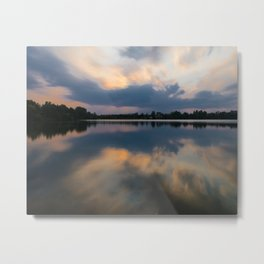 Lake in swabia Metal Print