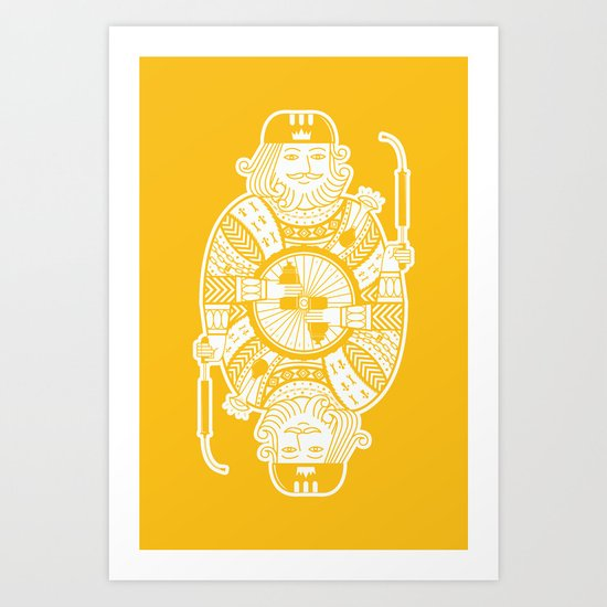 King of the road Art Print