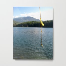 Rope Swing Metal Print