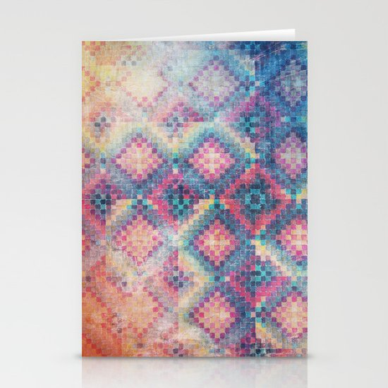 c square Stationery Cards
