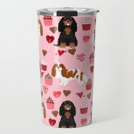 Cavalier King Charles Spaniel mixed coats valentines day dog breed must have cavalier spaniels gifts Travel Mug