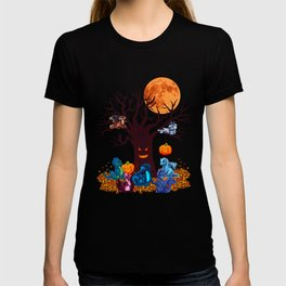 HALLOWEEN DRAGON PARTY (PAINTING) T-shirt