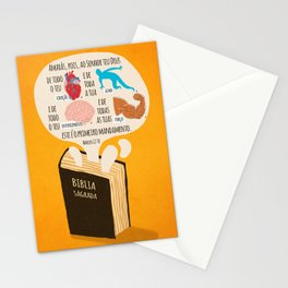 Marcos 12:30 Stationery Cards