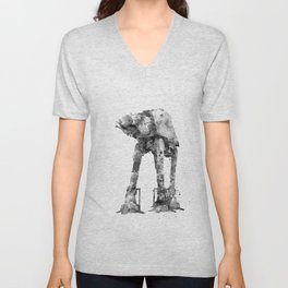 At-At Walker Unisex V-Neck