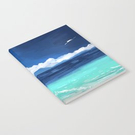 Beach Landscape Notebook