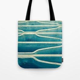 Blue Metal Grate Tote Bag