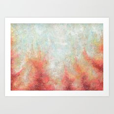 With My Own Eyes Art Print