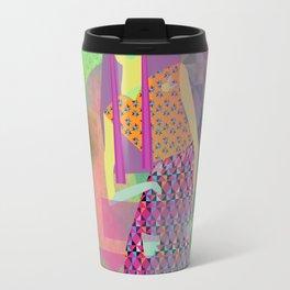 Neon girl Travel Mug
